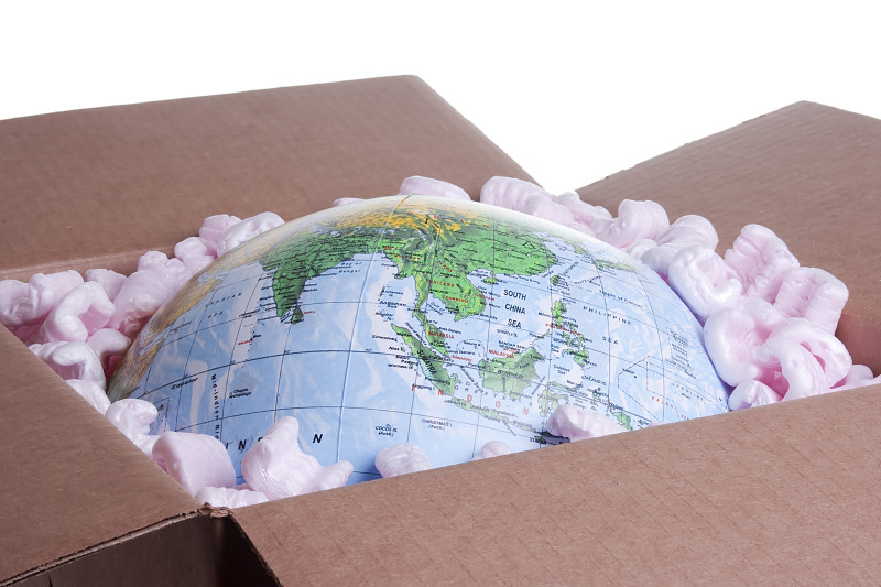 Globe in a Box - Mailing Methods