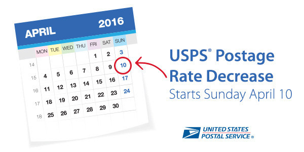 USPS Rate Change Guide: April 2016